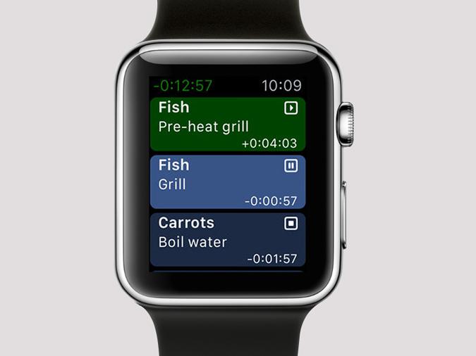 Apple Watch Timer Apps- carrots