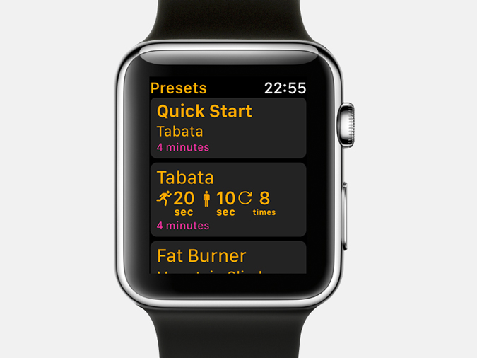 Apple Watch Timer Apps-intervals