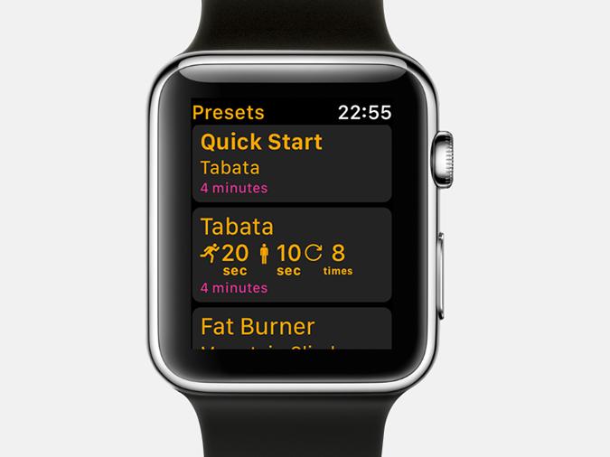 Apple Watch Timer Apps-intervals