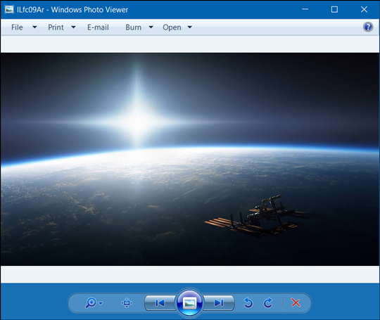 windows photo viewer image preview
