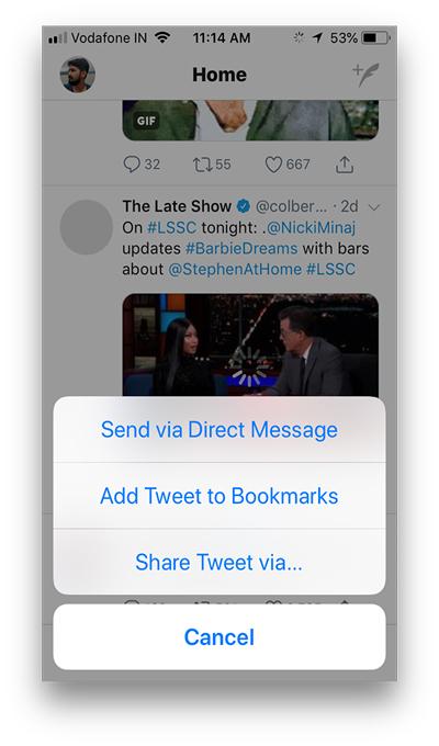 video twitter workflow