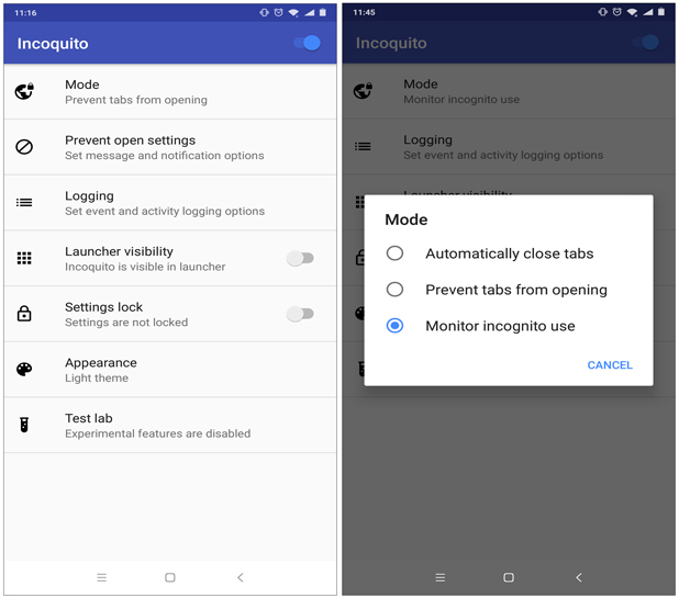 How to Disable Incognito Mode in Google Chrome for Android