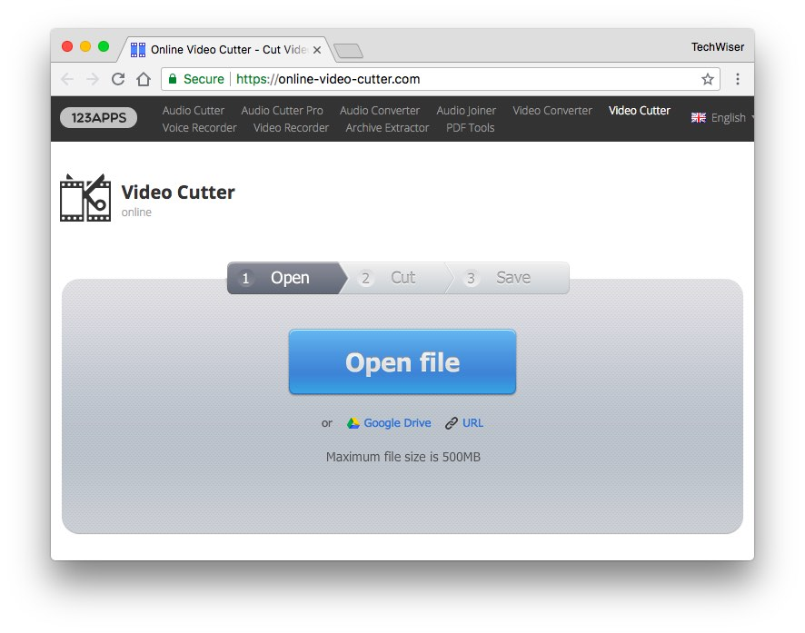 Online Video Cutter