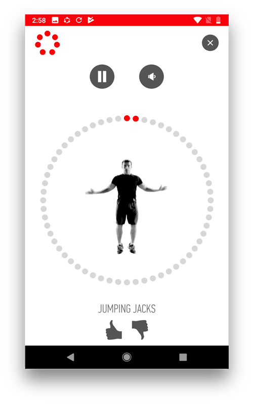 workout apps for android and ios- 7 minute workout
