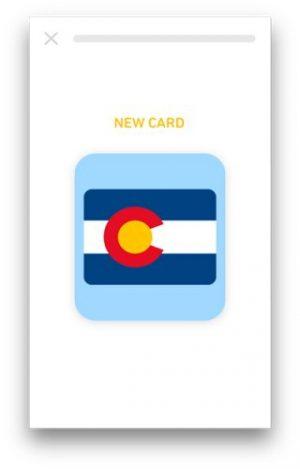 tiny app front card