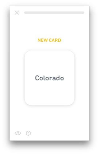 tiny app back card
