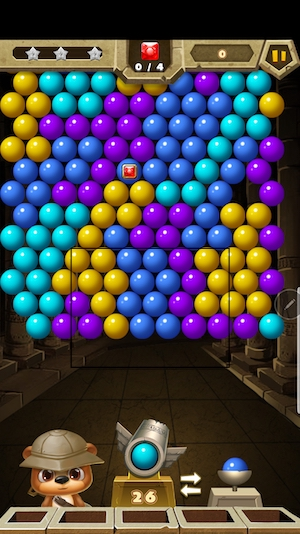 best games for Note 9/ Note 8- bubble shooter