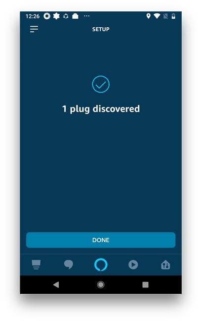 how to set up tp link smart plug with alexa- Plug discovered
