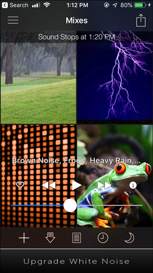 white noise apps for iphone- white noise lite