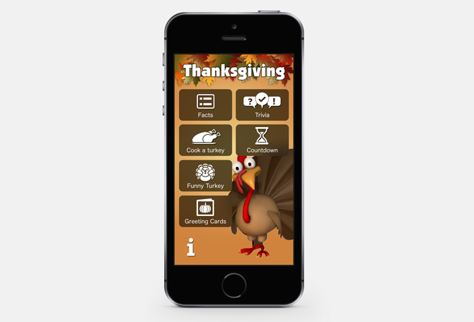 best thanksgiving apps- trivia