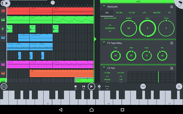 free music composing software for android