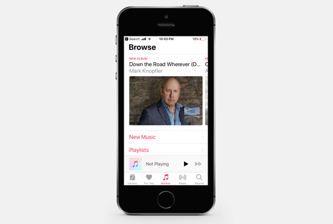 free music streaming apps- apple music