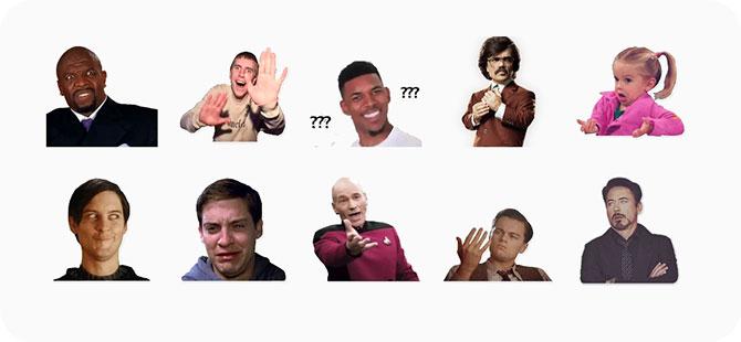 meme budaya pop dengan Screenshot dari Peter Parker, Picard, Sarg.  Jeffords