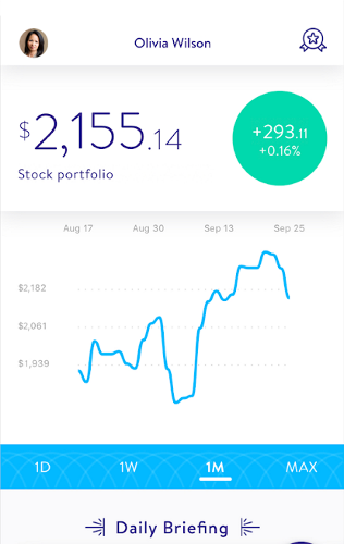stock market app - Stockpile