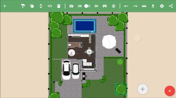 05 - house planning app - Planner 5D