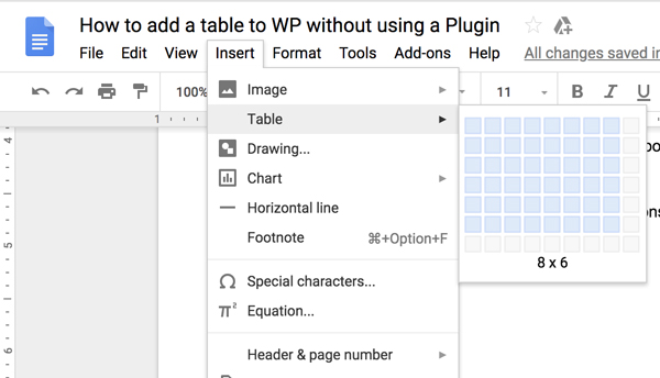 How to Create Table in Wordpress Without Plugin | TechWiser