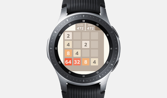 Best Galaxy Watch Games- 2048