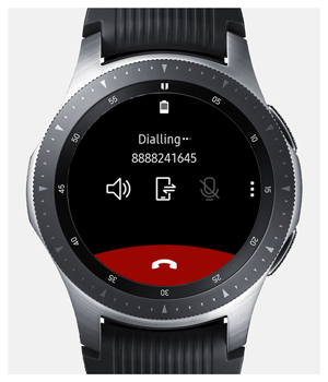 calling from galaxy watch