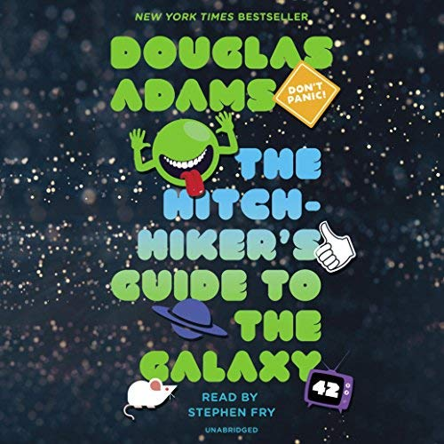 Audiobook for first time listener - 03 - The Hitchhikers Guide to the Galaxy