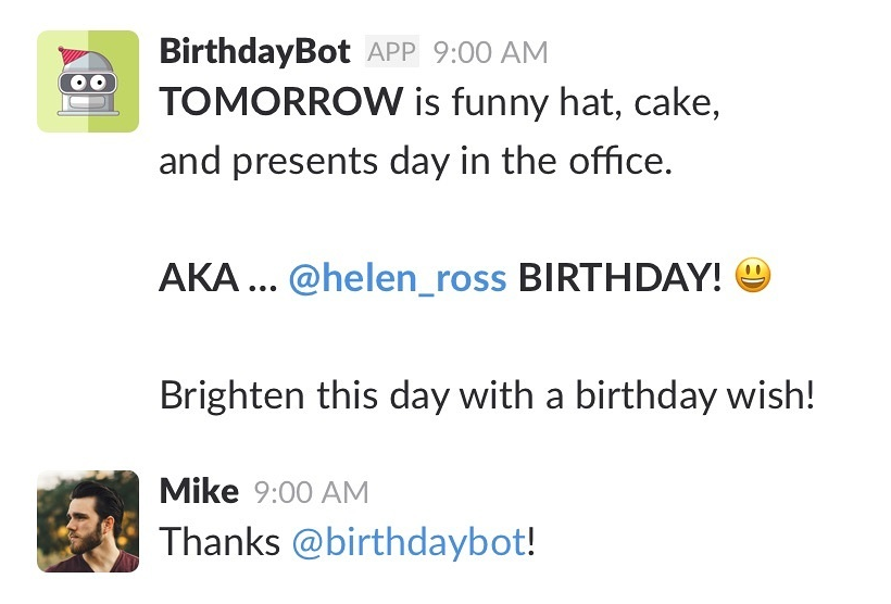 BirthdayBot