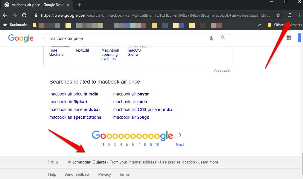 DuckDuckGo vs Google Search comparison 1