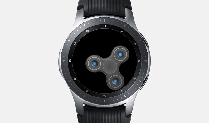 Best Galaxy Watch Games- Fidget Spinner