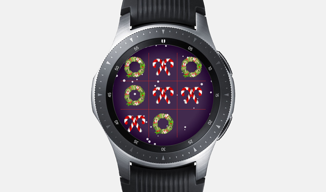 Best Galaxy Watch Games- Tic Tac Toe
