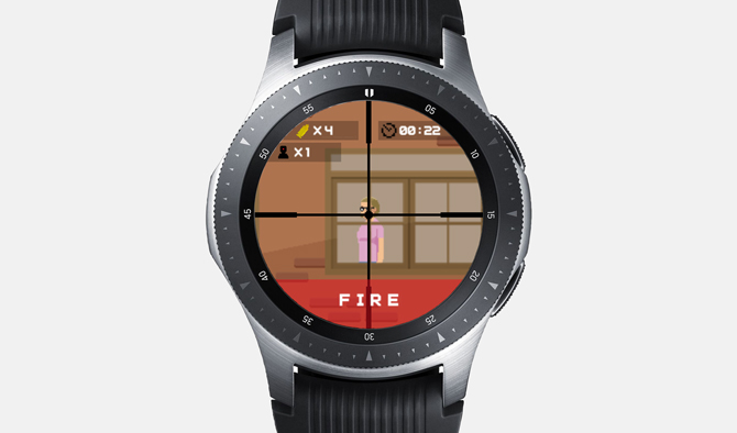 Best Galaxy Watch Games- Snipe n Watch