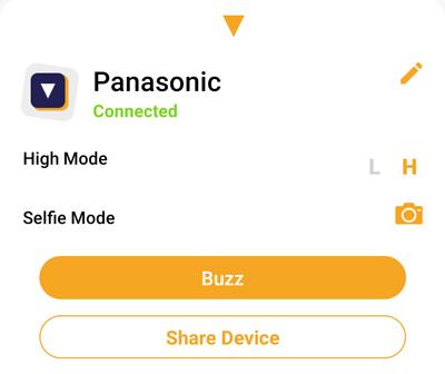 Panasonic Seekit Edge Review- Alert mode