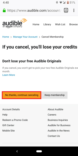 How to Cancel Audible Subscription on App | TechWiser