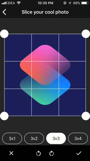 best instagram grid apps- coolgram grid