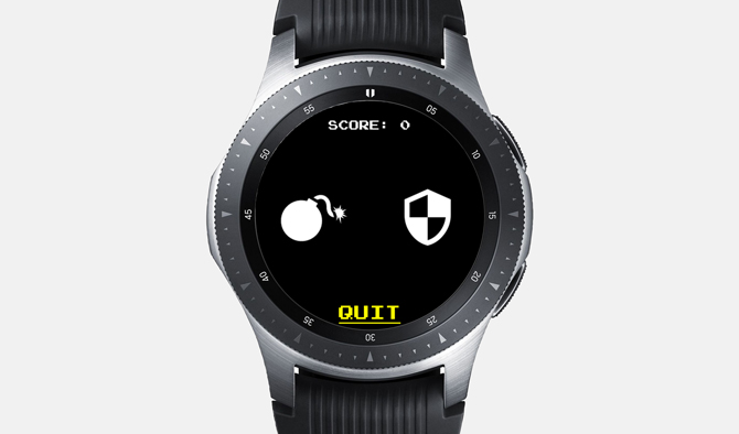 Best Galaxy Watch Games- Don't Tap