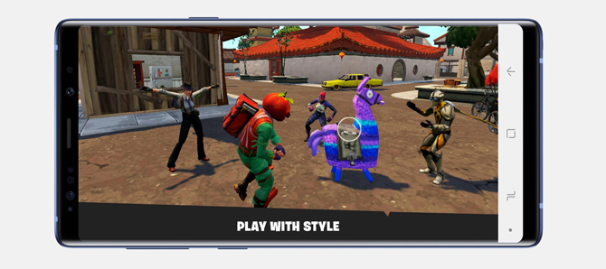 best apps for Galaxy note 9- Fortnite