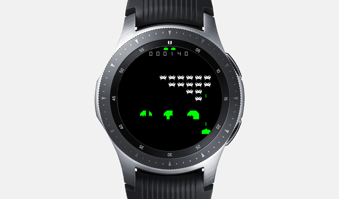 Best Galaxy Watch Games- Gear Invaders