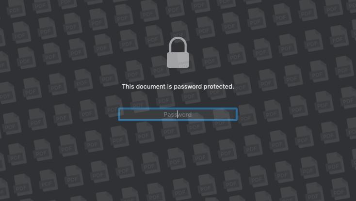 password pdf