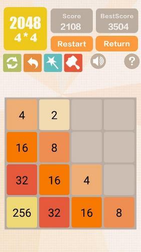 math game app - 12 - 2048 Charm