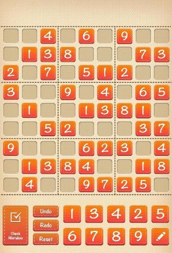 math game app - 13 - Sudoku