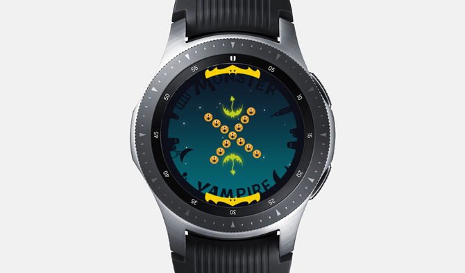 Best Galaxy Watch Games- Monster Vampire