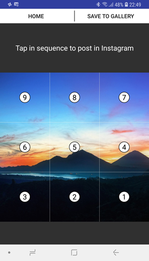 best instagram grid apps- nine