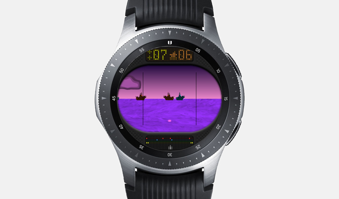 Best Galaxy Watch Games- Sea Wolf