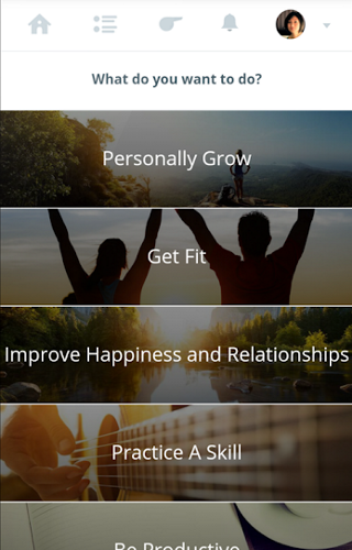 self help app - 01 - Coach
