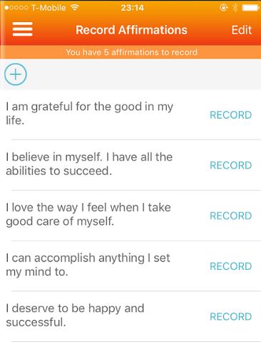 self help app - 09 - ThinkUp