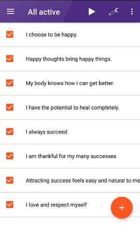 self help app - 17 - My Affirmations