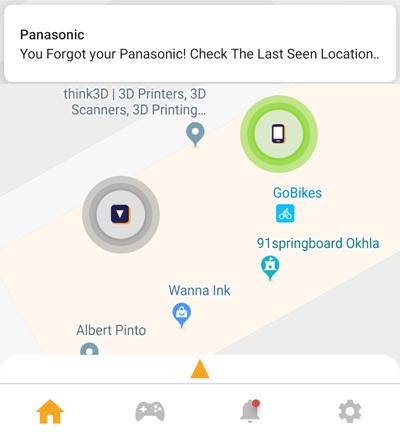Panasonic Seekit Edge Review- separation indicator