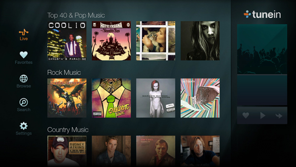 best firestick apps- TuneIn Radio