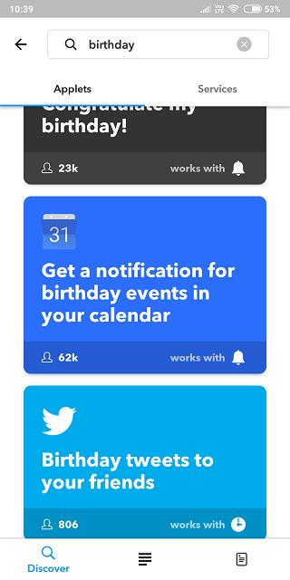 Birthday Reminder Apps 9