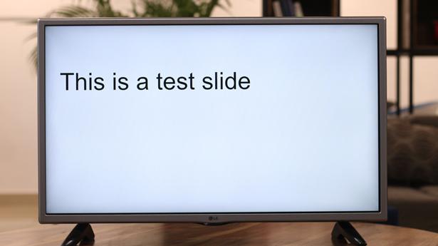 best chromecast apps- Slides
