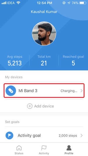 disable auto heart rate monitor- mi band 3