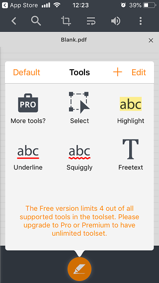PDF Editors for iPad and iPhone 1