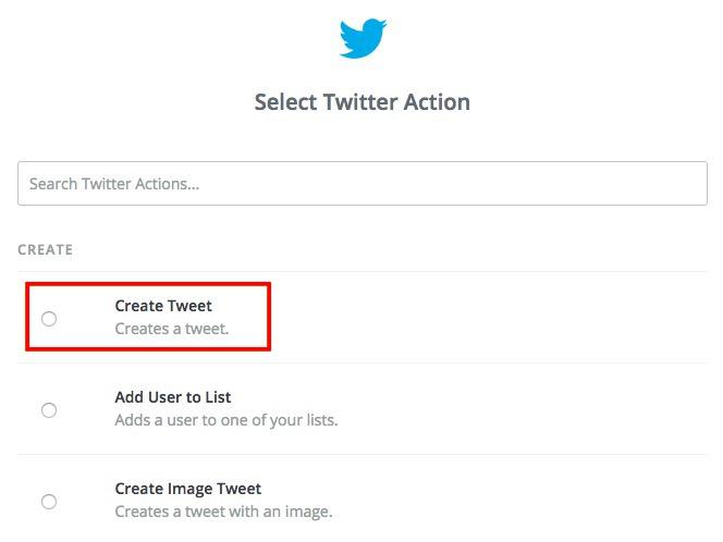 Create Tweet